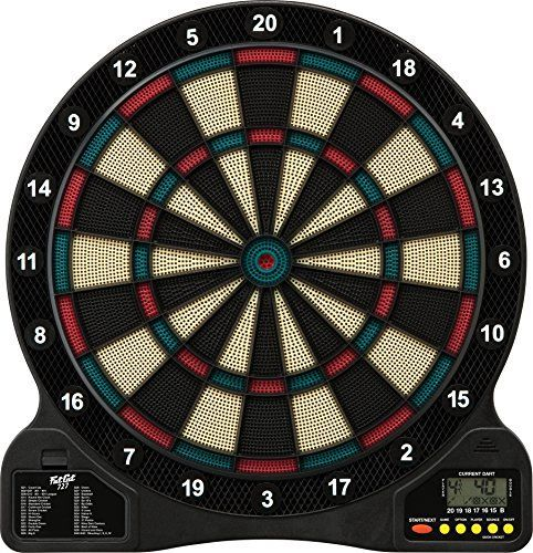 Fat Cat 727 Electronic Soft Tip Dartboard  Full review at: http://best10best.com/best-dartboard/
