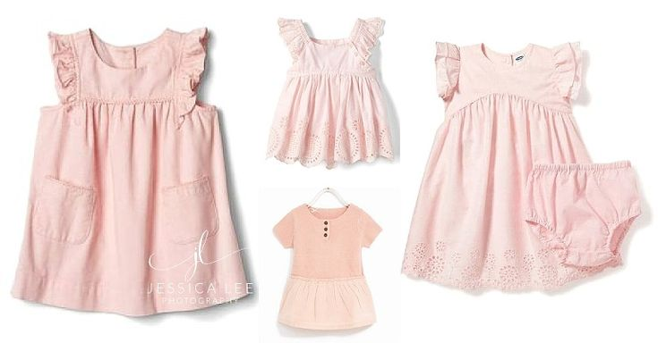 Jessica Lee Photography,  Family Photographer Longmont, What to wear for photo session, pink dresses,