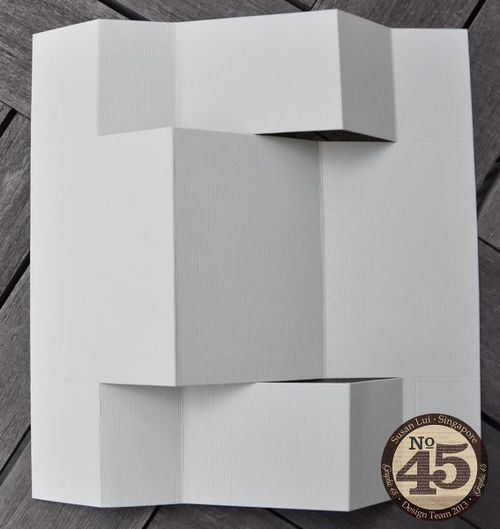 Graphic 45: Getting Creative With Graphic 45 Cards #ShutterCard #tutorial by Susan Lui