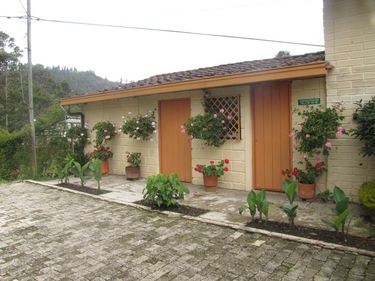 Outside of Medellin