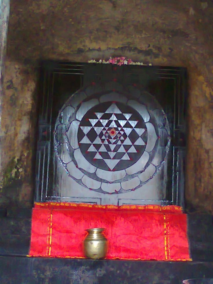 life of shankaracharya - 2500 years back Adi Shankaracharya presented this Shree Yantra to the Chidambaram temple in south India.