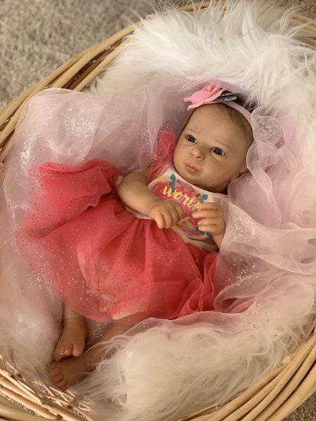 Realborn Reborn Girl Baby Doll Aria Puppen & Zubehör