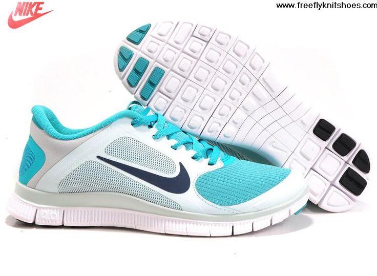 Women's Nike Wmns Free 4.0 V3 Fiberglass Sport Turquoise Sneakers : V27e2475
