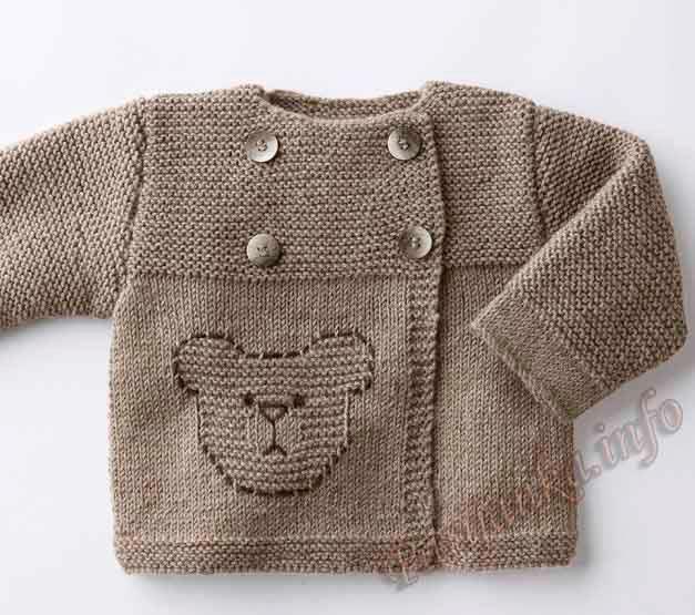 erkek bebek örgü hırka modelleri