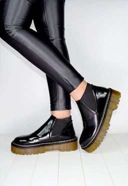 ALEXIS Chunky Platform Chelsea Boots