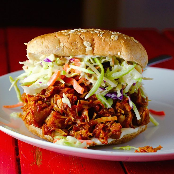 OMG!! This is so darned delicious! Barbecue Pulled Jackfruit!