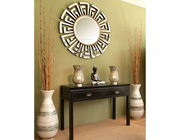 Foyer Table Vases : Entryway design ideas love the mirrors table and tall
