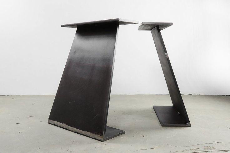 Tisch Wangen Farum Stahl vollmassiv | Industriedesign