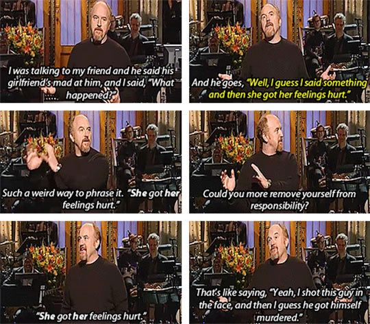 Louis C.K.'s Just Stating The Facts