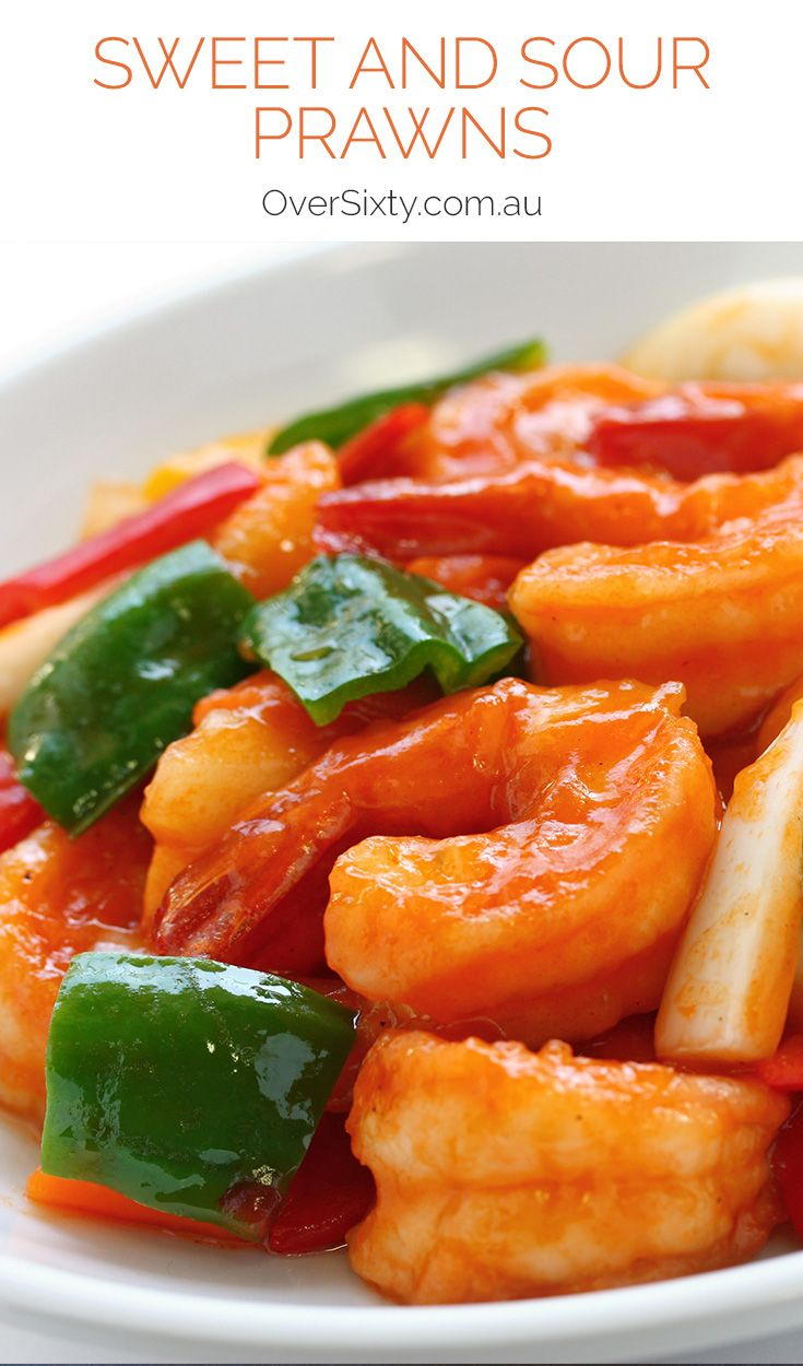Sweet and Sour Prawns - Don't settle for takeaway when it's so easy to whip up this delicious sweet and sour prawn dish.