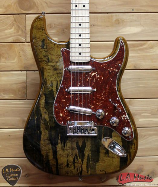Fender Custom Shop Spalted Maple Top Artisan Stratocaster, Maple ...