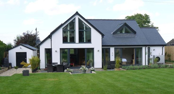 Downside= visible to all and sundry. Cost of gaining 1-2 metre section yet removing front of house..... Contemporary & Bespoke | Potton