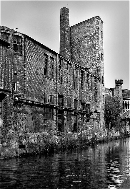 Rochdale canal, Castlefield, Manchester, shot by Charles Etchells. #places, #photography #industrial
