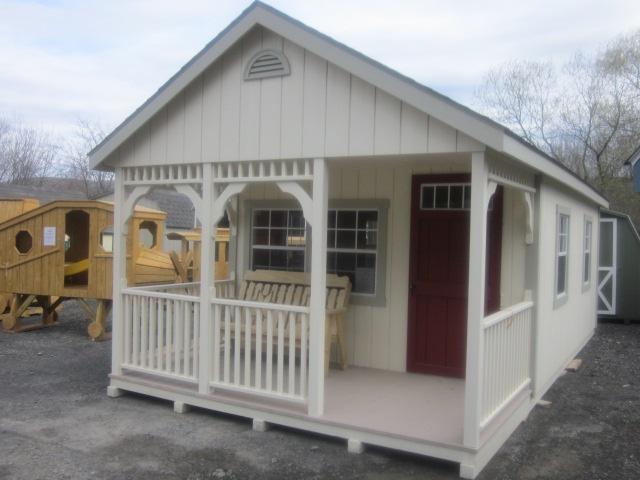Upstate ny amish built sheds cabins storage units for Amish built sheds