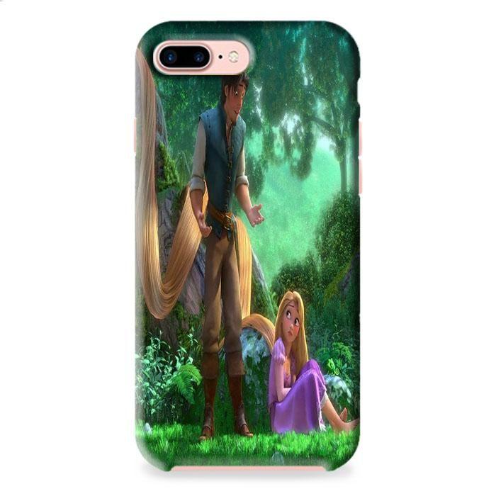 Tangled Cartoon Rapunzel iPhone 7 3D Case Dewantary
