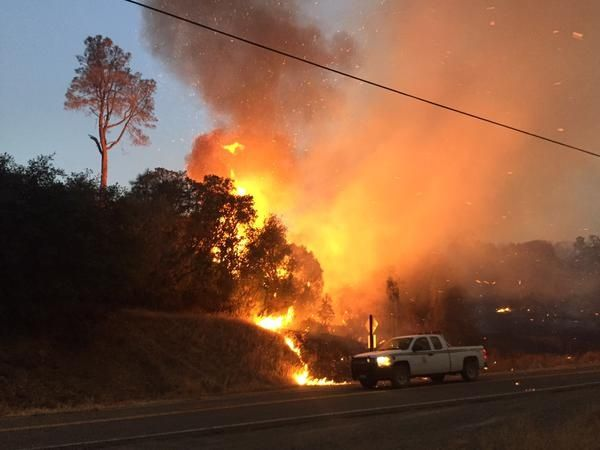 "LAKE COUNTY, Calif. (KCRA)FIREFIGHTERS ARE RESPONDING TO MORE THAN A DOZEN WILDFIRES ACROSS THE STATE AREA AT LEAST 5 OF THE MAJOR INCIDENTS ARE IN N. CALIFORNIA, INCLUDING A HUGE FIRE IN LAKE COUNTY.""You're probably looking at flames in the 50-foot range,"" said Cal Fire Capt. Joe Fletcher. ""And w/ that kind of heat intensity, you can't get in there and do work. You got to let it burn through or slow down before you can re-engage it."" kcra.com #news #lakecounty #wildfire #explodesto5000acres"