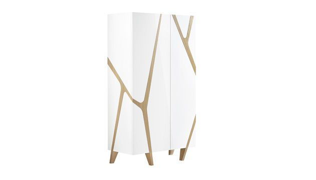 Contemporary wardrobe / in wood - LES CONTEMPORAINS : MANGROVE by M. Fumagalli - ROCHE BOBOIS