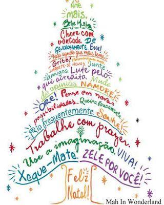 Mah In Wonderland: Árvore de Natal Adesiva