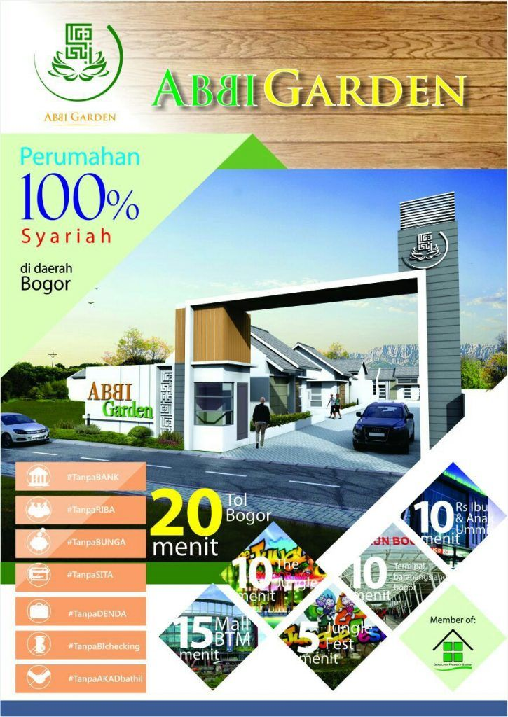 Abbi Garden Bogor – Rumah Syariah Tanpa Bank
