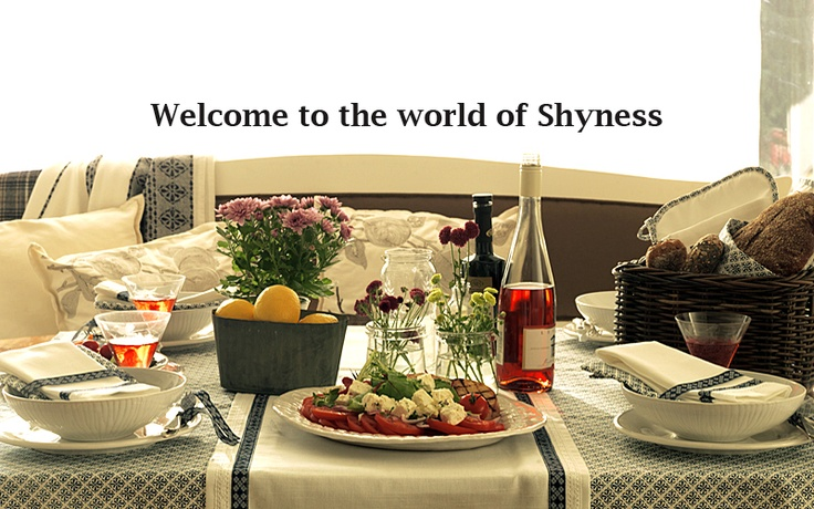 shyness table spring 2012