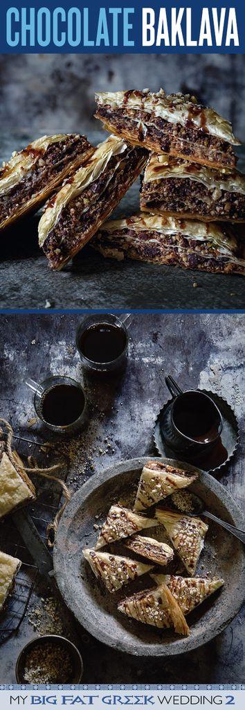 My Big Fat Greek Wedding 2 Chocolate Baklava | Bakers Royale #MyBigFatGreekWedding2