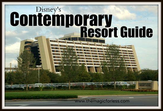 Disney's Contemporary Resort Information | Walt Disney World
