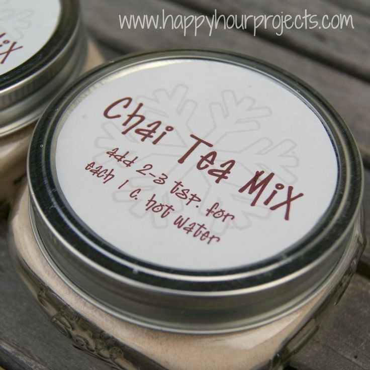 A little for someone else and a Lot for me :) Happy Hour Projects: Instant Chai Tea Mix.  Great Homemade Thanksgiving Hostess or Christmas Gift