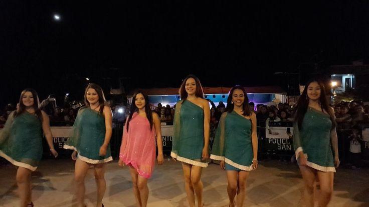 Coreografía Candidatas Del Reinado Del Carnaval De San Bernardo Nariño 2017
