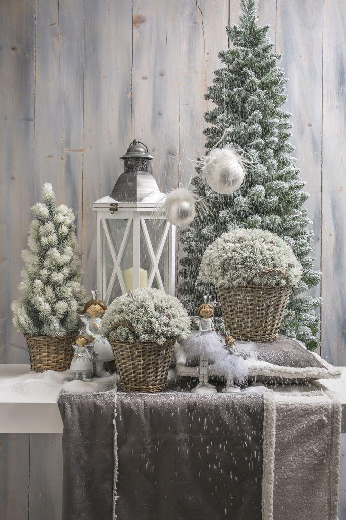 Accessori Natale.Decorazioni E Addobbi Natalizi Vasto Assortimento Di Alberi
