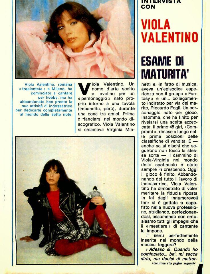 SCRIVOQUANDOVOGLIO: VIOLA VALENTINO:ESAME DI MATURITA' (28/06/1982)