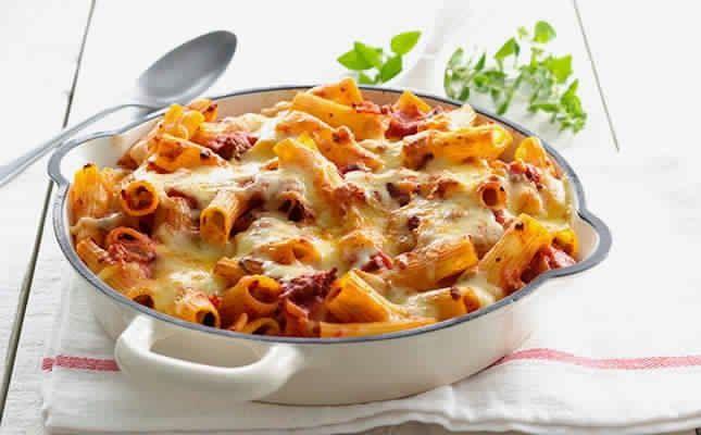 Slimming recipe: Bolognese pasta bake