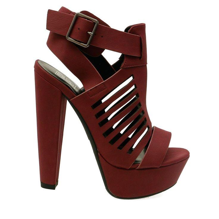 botas bajo tacón de aguja 11 cm tobillo beige elegantes como piel 9545