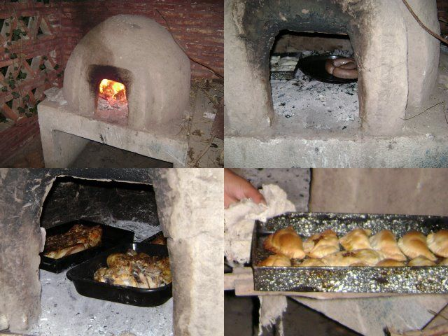 17 best images about hornos de le a y parrilla on - Chimeneas de barro ...