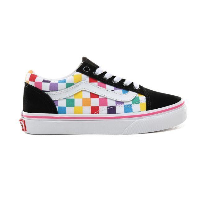 Vans Old Skool Kids Shoes Checkerboard