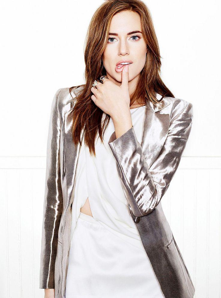 Эллисон Уильямс — Фотосессия для «Glamour» 2014 – 2