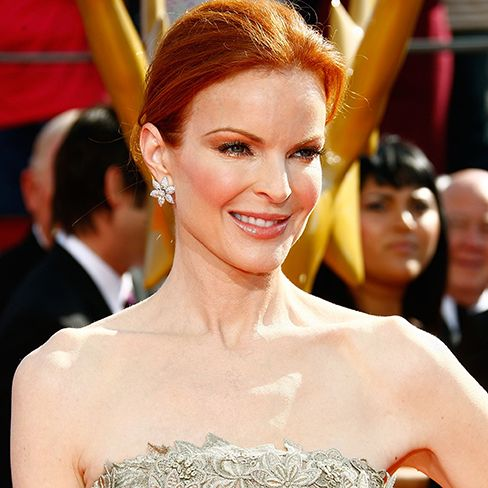Hearts On Fire Dresses Marcia Cross for the Emmys