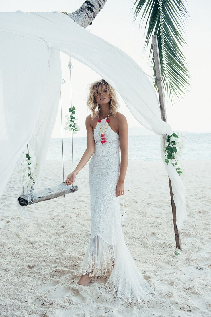 Oh my, I really don't need to say much about the latest bridal collection from Spell. I mean, look at these dresses. WOW. Bridal perfection for the free-spirited bride. Based in Bondi, Australia. I likey a lot. In fact, I love.