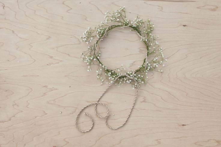 Baby's Breath Wedding Crown