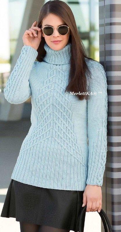 Вязание спицами - два пуловера, жакет и пальто. Обсуждение на LiveInternet - Российский Сервис Онлайн-Дневников