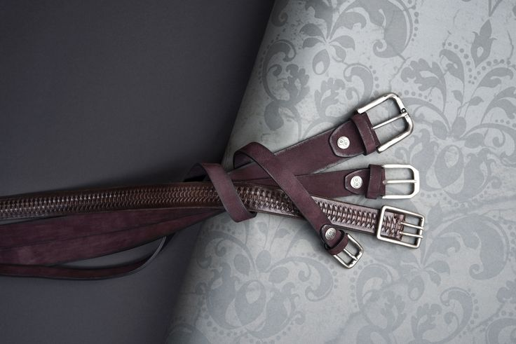 Buckles & Belts - Belt/Gürtel - New Autumn Collection 2016 - Torean - Nubuk-Leather - mora - bordeaux - Design in SWITZERLAND made in ITALY https://www.facebook.com/BucklesBelts