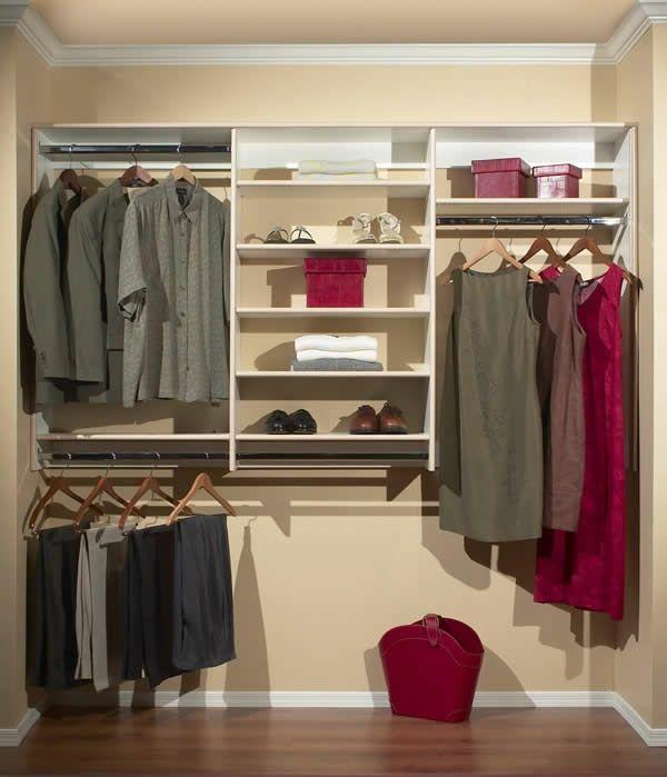 Den Kleiderschrank intelligent organisieren: 50 Bilder, Pläne und Lagerideen mit Wandschränken - http://cooledeko.de/mobel/den-kleiderschrank-intelligent-organisieren.html