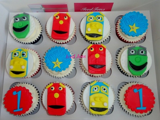Chuggington Cupcakes