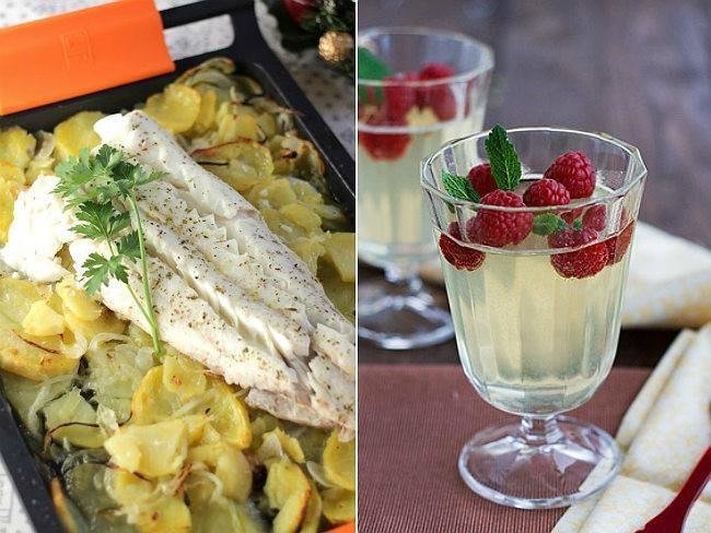Ideas de menús para Nochevieja aptos para celíacos e intolerantes a la lactosa. Entrantes, primeros, segundos y postres. Menús completos para Nochevieja