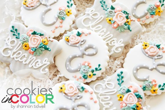Baby Sprinkling Cookies   Cookies In Color   by Shannon Tidwell
