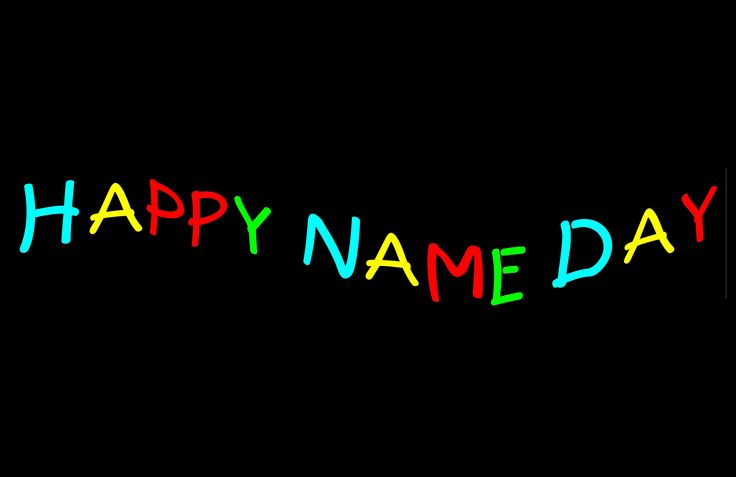 happy name day - Google Search