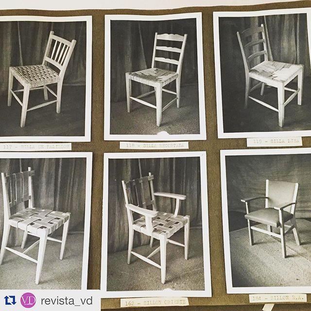 Parte de nuestra historia recordada por nuestros amigos de @revista_vd #Identidad #Herencia #Calidad #Durabilidad #MueblesSur
