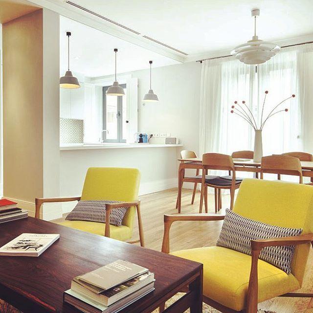 #sunny #interior on this #rainy day in #lisbon. #interiordesign #danish #modern #lux #portugal