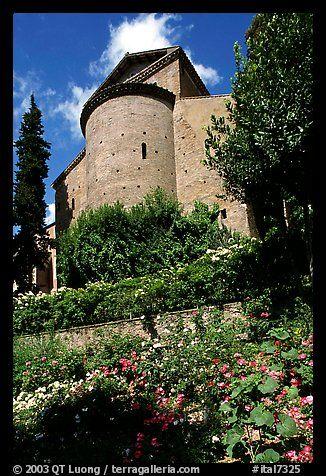 Gardens of Villa d'Este. Tivoli, Lazio, Italy