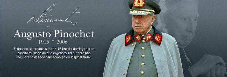 Don Augusto Pinochet Ugarte siempre estarás en nuestras memorias de las personas objetivas y patriotas!