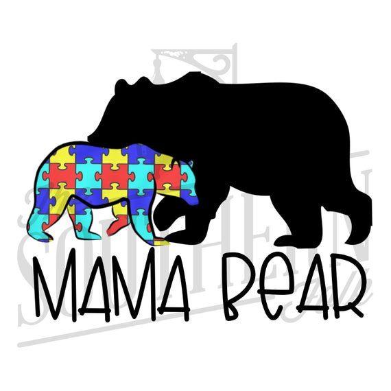 Mama Bear Design Png File Sublimation Digital Download Etsy Mama Bear Design Bear Design Framed Artwork